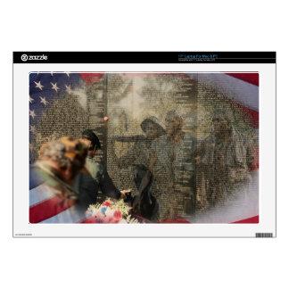 "Vietnam Veterans' Memorial Skin For 17"" Laptop"