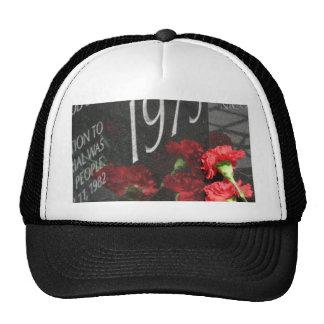 Vietnam Veterans Memorial Wall flower Trucker Hat