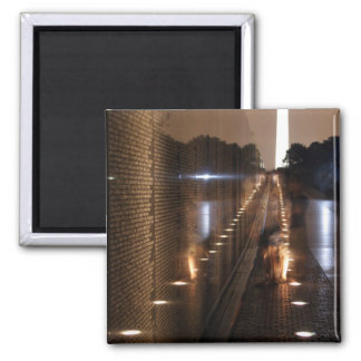 Vietnam Veterans Memorial Wall Photo Magnet