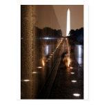 Vietnam Veterans Memorial Wall Photo Post Card