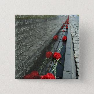 Vietnam veterans Memorial Wall Pinback Button