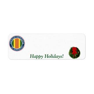 Vietnam Veterans of America Holiday Label #3
