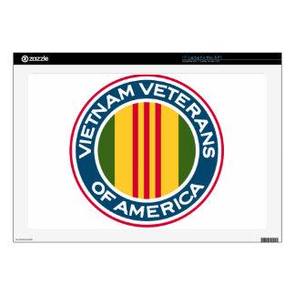 "Vietnam Veterans of America Logo 17"" Laptop Skins"