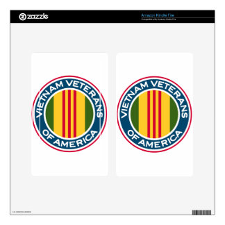 Vietnam Veterans of America Logo Decal For Kindle Fire