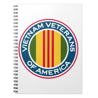 Vietnam Veterans of America Logo Notebook