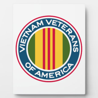Vietnam Veterans of America Logo Plaque
