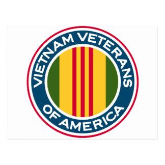 Vietnam Veterans of America Logo Postcard