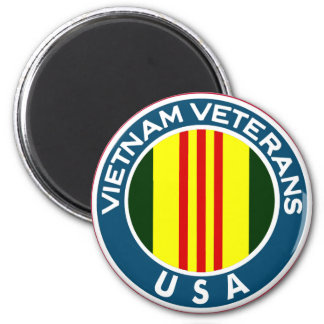 Vietnam Veterans of the USA 2 Inch Round Magnet