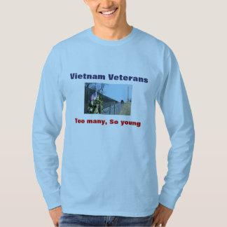 Vietnam Veterans t-shirt Too many, So young