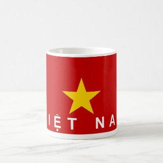 vietnam viet nam flag country text name coffee mug