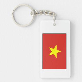 Vietnam – Vietnamese Flag Acrylic Keychains