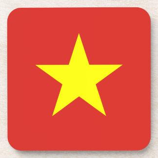 Vietnam – Vietnamese Flag Beverage Coaster