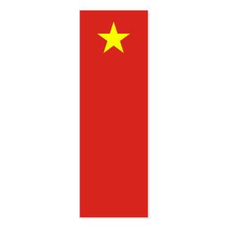 Vietnam – Vietnamese Flag Business Card Templates