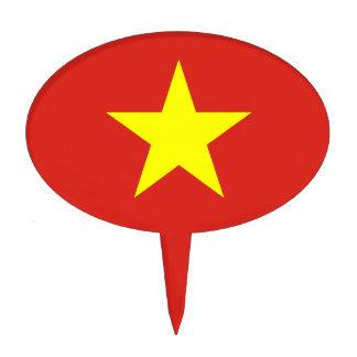 Vietnam – Vietnamese Flag Cake Toppers