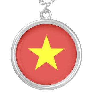 Vietnam – Vietnamese Flag Custom Necklace