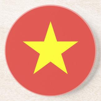Vietnam – Vietnamese Flag Drink Coaster