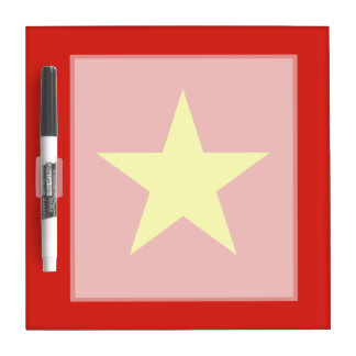 Vietnam – Vietnamese Flag Dry Erase Whiteboard