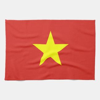 Vietnam – Vietnamese Flag Hand Towel