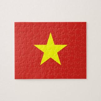 Vietnam – Vietnamese Flag Jigsaw Puzzles