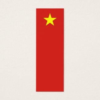 Vietnam – Vietnamese Flag Mini Business Card