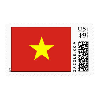 Vietnam – Vietnamese Flag Postage Stamp