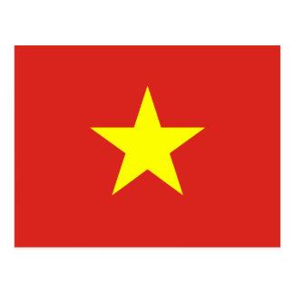 Vietnam – Vietnamese Flag Postcard