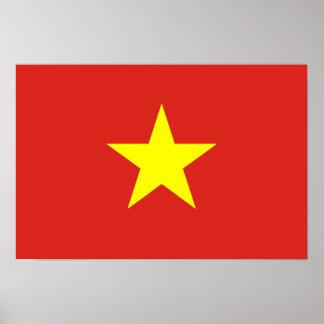 Vietnam – Vietnamese Flag Poster
