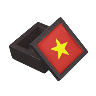 Vietnam – Vietnamese Flag Premium Jewelry Box