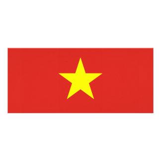 Vietnam – Vietnamese Flag Personalized Rack Card