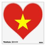 Vietnam – Vietnamese Flag Room Decals