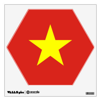 Vietnam – Vietnamese Flag Room Sticker