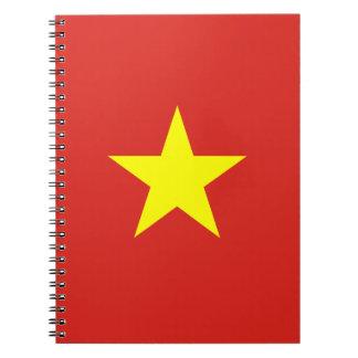 Vietnam – Vietnamese Flag Spiral Note Books
