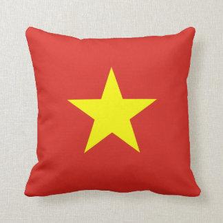 Vietnam – Vietnamese Flag Throw Pillows