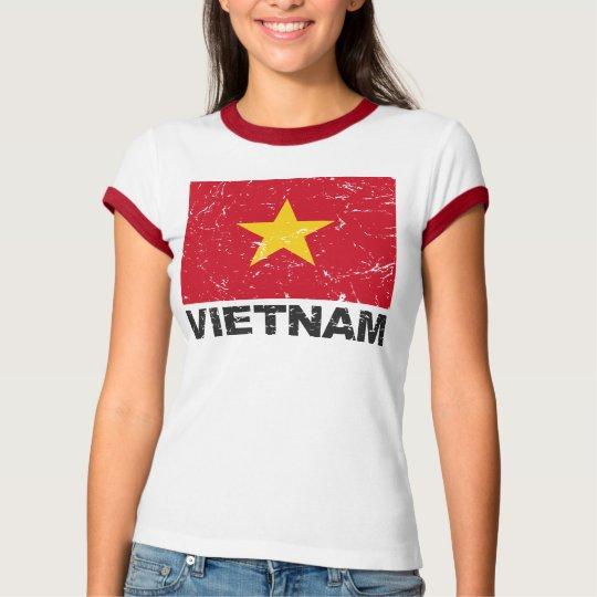 Vietnam Vintage Flag T-Shirt
