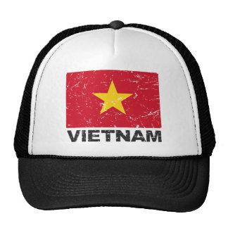 Vietnam Vintage Flag Trucker Hat