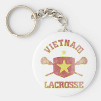 Vietnam-Vintage Basic Round Button Keychain