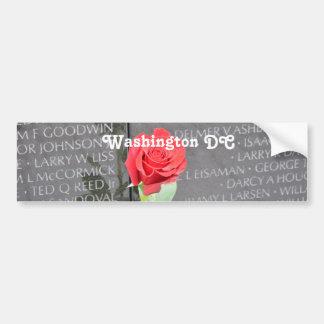 Vietnam Wall Memorial Car Bumper Sticker