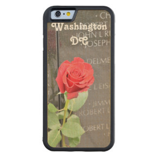 Vietnam Wall Memorial Carved® Maple iPhone 6 Bumper