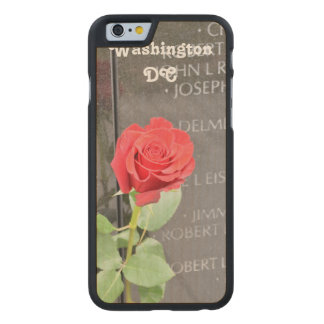 Vietnam Wall Memorial Carved® Maple iPhone 6 Case