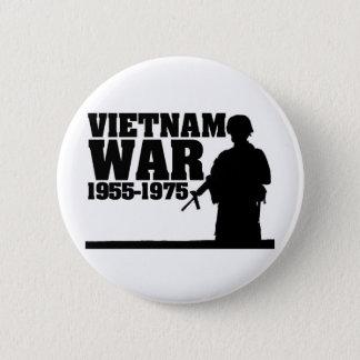 Vietnam War 1955-1975 Button