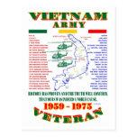 VIETNAM WAR. AMERICAN ARMY VETERAN POST CARDS