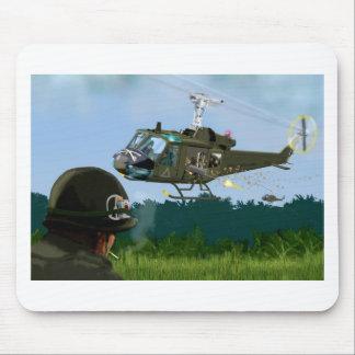 Vietnam War Bell Huey. Mouse Pad