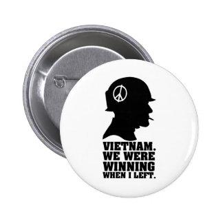 Vietnam War Button
