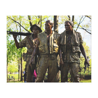 Vietnam War Memorial Canvas Print