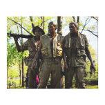 Vietnam War Memorial Gallery Wrap Canvas