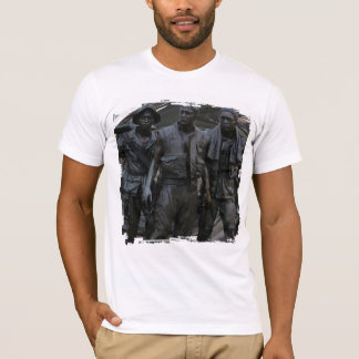 Vietnam War Memorial Grunge 4 Tshirt