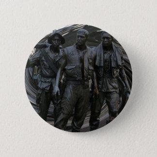 Vietnam War Memorial Round Button