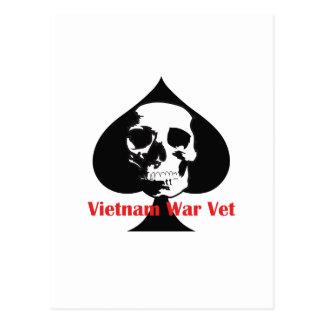 VIETNAM WAR VET POSTCARD