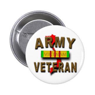 Vietnam War Veteran Service Ribbon, ARMY Button
