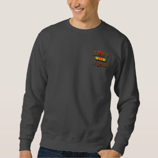 Vietnam War Veteran Service Ribbon, ARMY Sweatshirt